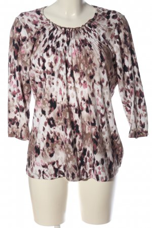 Canda Premium Long Sleeve Blouse abstract pattern casual look