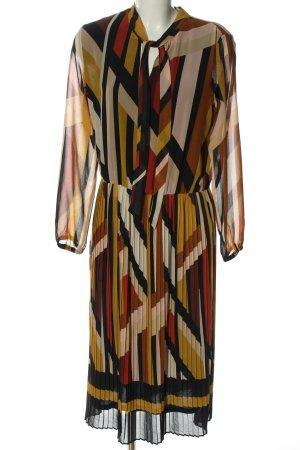 Canda Premium Robe à manches longues imprimé allover élégant