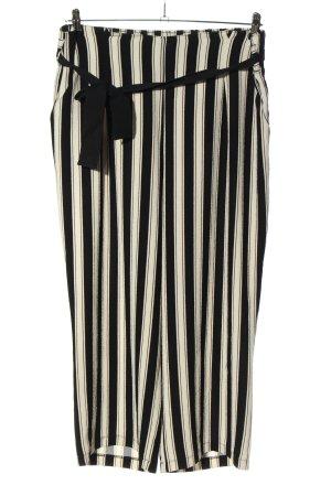 Canda Premium Marlene Dietrich broek gestreept patroon casual uitstraling
