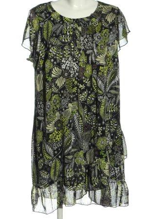 Canda Premium Lange blouse grafisch patroon casual uitstraling