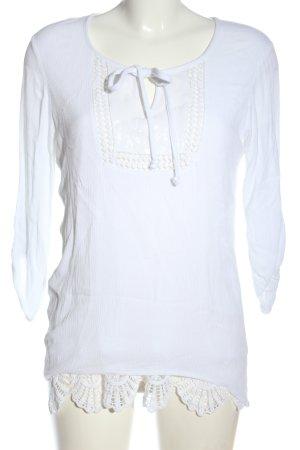 Canda Premium Slip-over blouse wit casual uitstraling