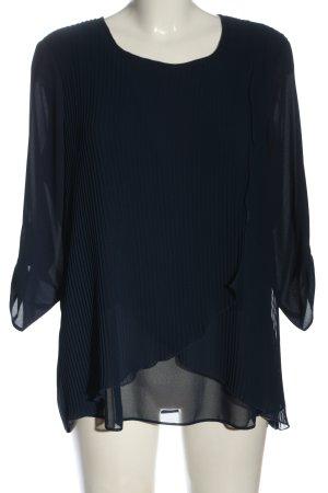 Canda Premium Slip-over blouse blauw casual uitstraling
