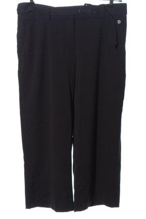Canda Premium Stoffen broek zwart casual uitstraling