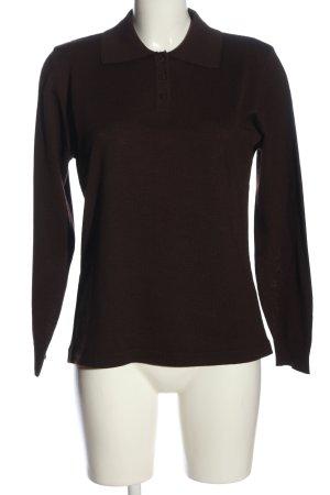 Canda Sweter z golfem brązowy W stylu casual