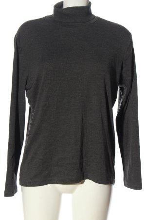Canda Turtleneck Shirt light grey flecked casual look