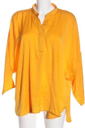 Canda Blouse à enfiler orange clair style d'affaires
