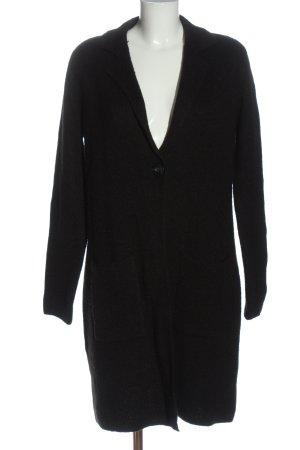 Canda Cardigan in maglia nero stile casual
