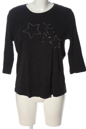 Canda Camicia maglia nero stile casual