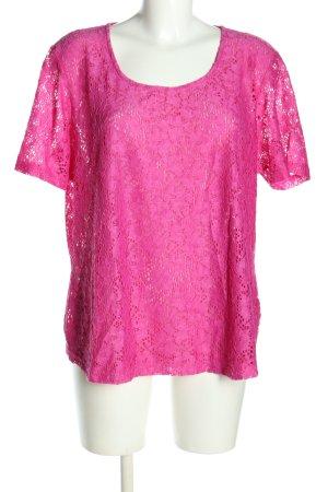 Canda T-shirt różowy W stylu casual