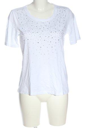 Canda T-Shirt weiß Casual-Look
