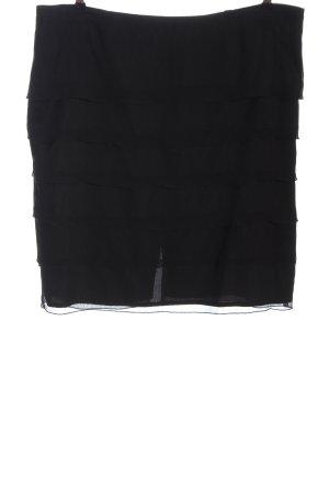 Canda Flounce Skirt black casual look