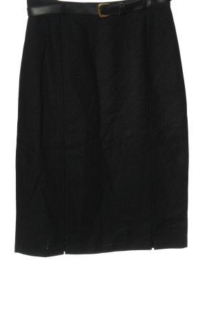 Canda Wool Skirt black elegant