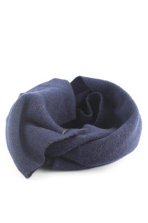 Canda Wollschal blau Business-Look