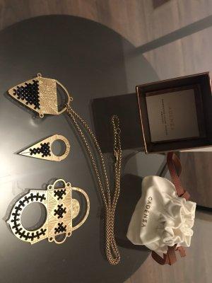 Cadenzza Necklace gold-colored