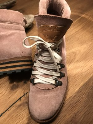 Candice Cooper Low boot vieux rose