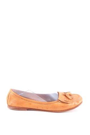 Candice Cooper Slip-on orange clair style décontracté