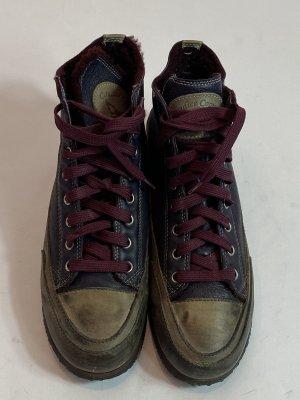 Candice Cooper High Top Sneaker dark blue