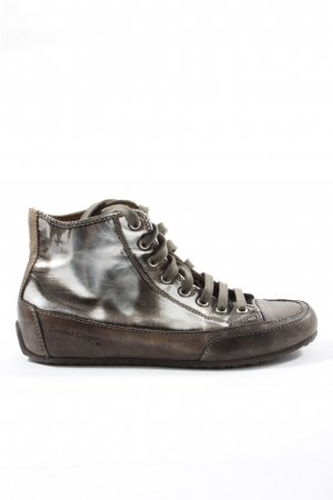 Candice Cooper High Top Sneaker braun Farbverlauf Casual-Look