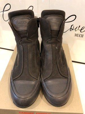 Candice Cooper High Top Sneaker Chula33i Grau Leder Top Zustand