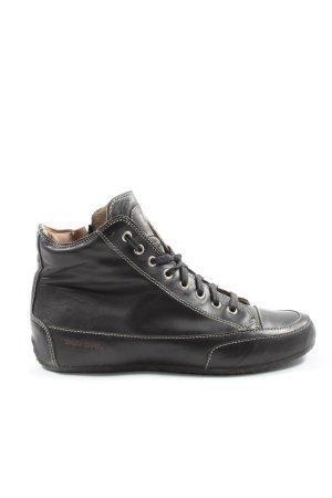 Candice Cooper Sneaker alta nero stile casual