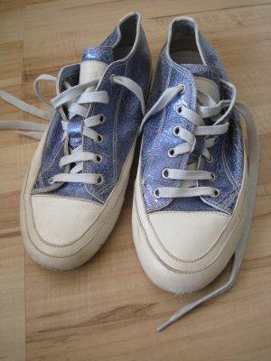 Candice Cooper Metallic Blau Größe 38
