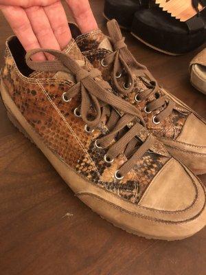 Candice Cooper Lace-Up Sneaker multicolored