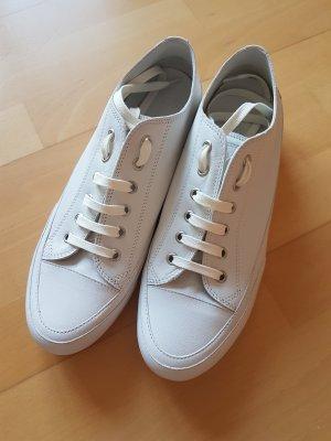 Candice Cooper Basket à lacet blanc