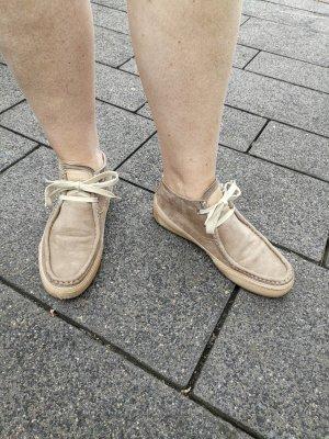 Candice Cooper Chaussures à lacets beige-chameau