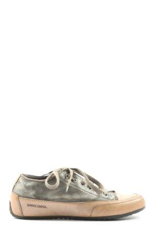 Candice Cooper Basket à lacet rose chair-kaki style décontracté