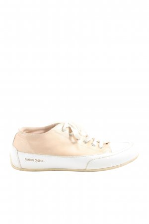 Candice Cooper Sneakers met veters room-wit casual uitstraling