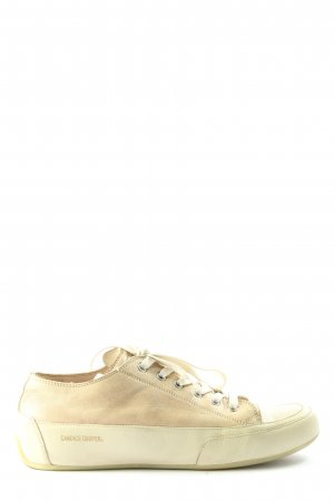 Candice Cooper Sneaker stringata bianco sporco stile casual