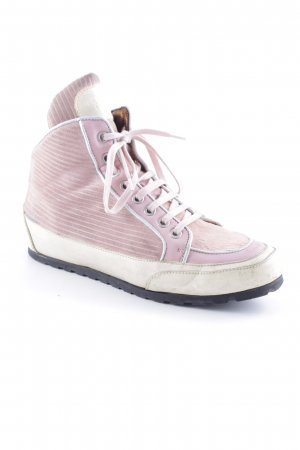 Candice Cooper Basket à lacet or rose-rose style décontracté