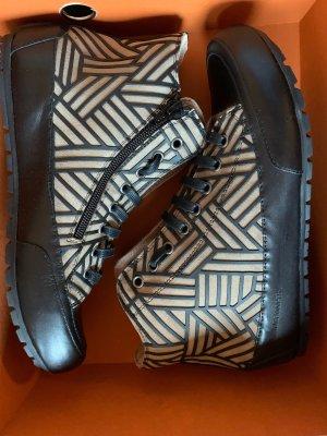 Candice Cooper High Top Sneaker black brown-light brown