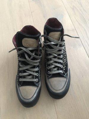 Candice Cooper High Top Sneaker dark brown