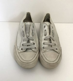Candice Cooper Lace-Up Sneaker silver-colored