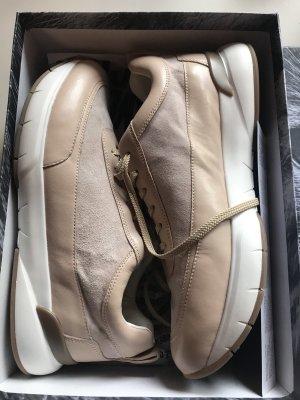 Candice Cooper Sneakers Beige Braun Weiß Gr. 41 Neu NP 219€