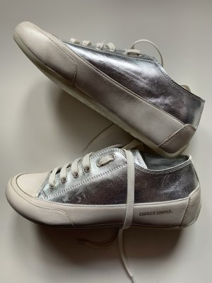 Candice Cooper Lace-Up Sneaker silver-colored-natural white