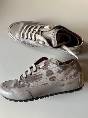 Candice Cooper Sneakers Gr 38 Grau Hellgrau Leder  Neu NP 229€