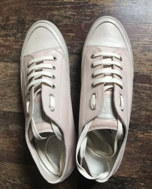 Candice Cooper Lace-Up Sneaker pink-white leather