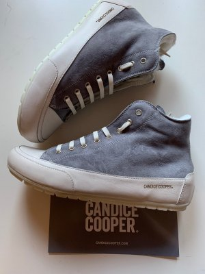 Candice Cooper Stiefel Winterstiefel Lammfell Gr 41 Grau Weiß NP 259€ Neu