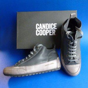 Candice Cooper Basket à lacet gris foncé-gris clair cuir