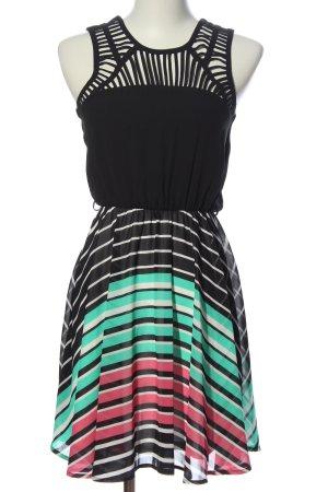 Candies Pinafore dress striped pattern elegant