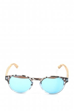 canglasses Round Sunglasses allover print wet-look