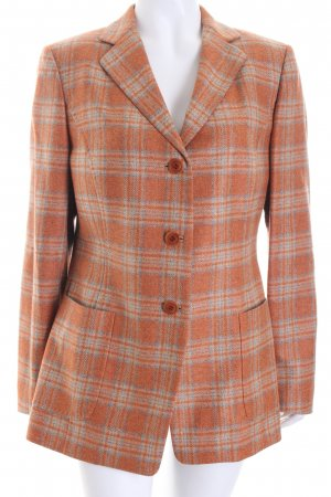 Cantarelli Long Blazer check pattern casual look