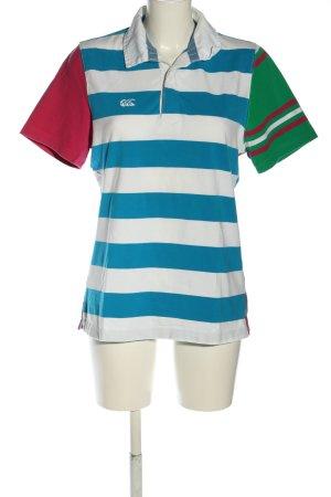 canterbury Polo-Shirt Streifenmuster Casual-Look