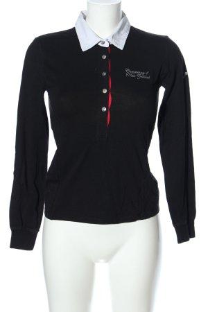 canterbury Polo-Shirt schwarz Casual-Look