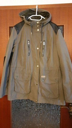 QS by s.Oliver Parka donkerbruin-khaki
