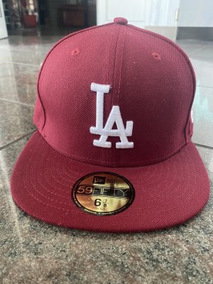 New Era Berretto da baseball carminio