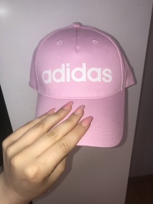 Adidas Baseball Cap light pink cotton