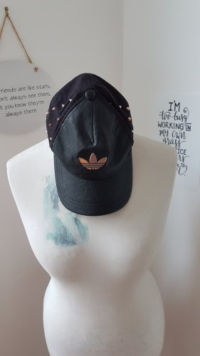 Adidas Baseball Cap black-silver-colored mixture fibre